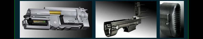 The newly developed 7mm metal gear box, is suitable for the compact internal